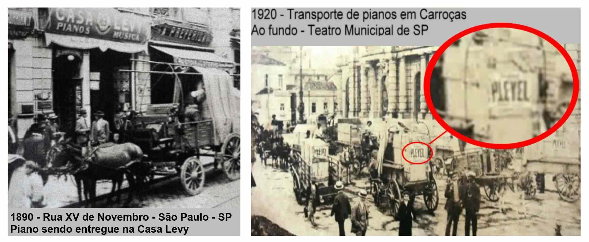transporte de pianos antigamente